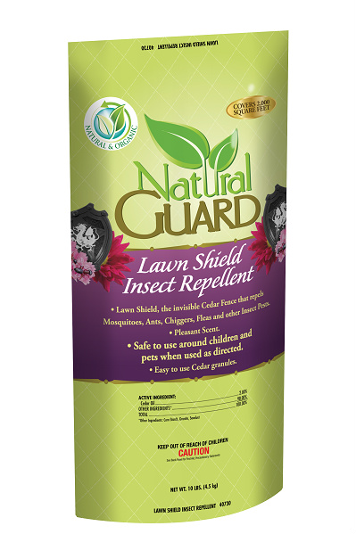 Natural guard lawn shield insect repellent indian creek - Natural insect repellent for gardens ...