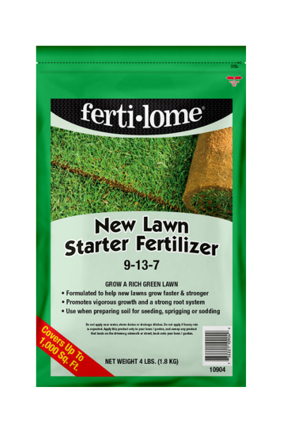 Fertilome New Lawn Starter